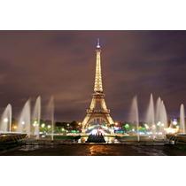 Lamina Torre Eiffel 90x60 Espectacular Definicion.
