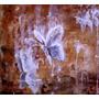 Cuadro 125x50 Tríptico De Bebes Mariposas A Óleo Por Padilla