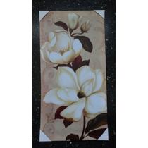 Cuadro En Bastidor Modelo Magnolia 60x29 Cm