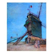 Arte Europeo : Van Gogh, V. - Moulin De La Galette S/tela