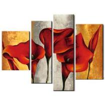Cuadros Dipticos Tripticos Minimalistas Abstractos Florales