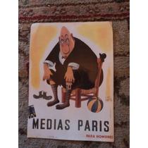 Publicidad De Medias Paris En Papel Ilustrado