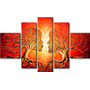Cuadros Abstracto Poliptico Impresos -tela Vinilica 100x60cm