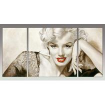 Marilyn Monroe Medida 120 X 60 Cm En 3 Partes + Regalos!!!!