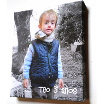 Cuadros Souvenirs, En Lienzo Personalizado Con Tu Foto