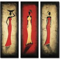 Cuadros Tripticos , Polipticos, Africanos Modernos