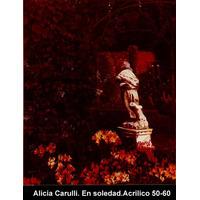 Cuadro -en Soledad.-hiperrealismo.-de A. Carulli