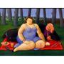Cuadros Fernando Botero En Canvas Montado En Bastidor