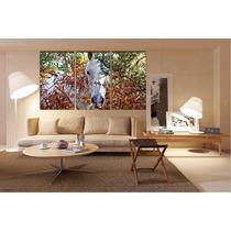 Animal Caballo Bastidor En Canvas De 120x70 Cm Exelente