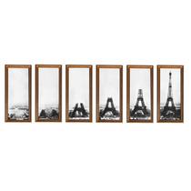 Torre Eiffel Cuadros Con Vidrio Oferta Espectacular