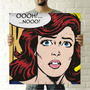 Cuadro Arte Pop 40x40cm Increible Precio Comic Oferta!!