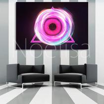Cuadros Abstractos Musica Series Flores 90x60 Cm