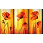 Cuadros Florales Dipticos Tripticos Modernos