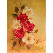 Cuadros Decorativos, Flores, Óleo, Arte, Decoración, Pintura