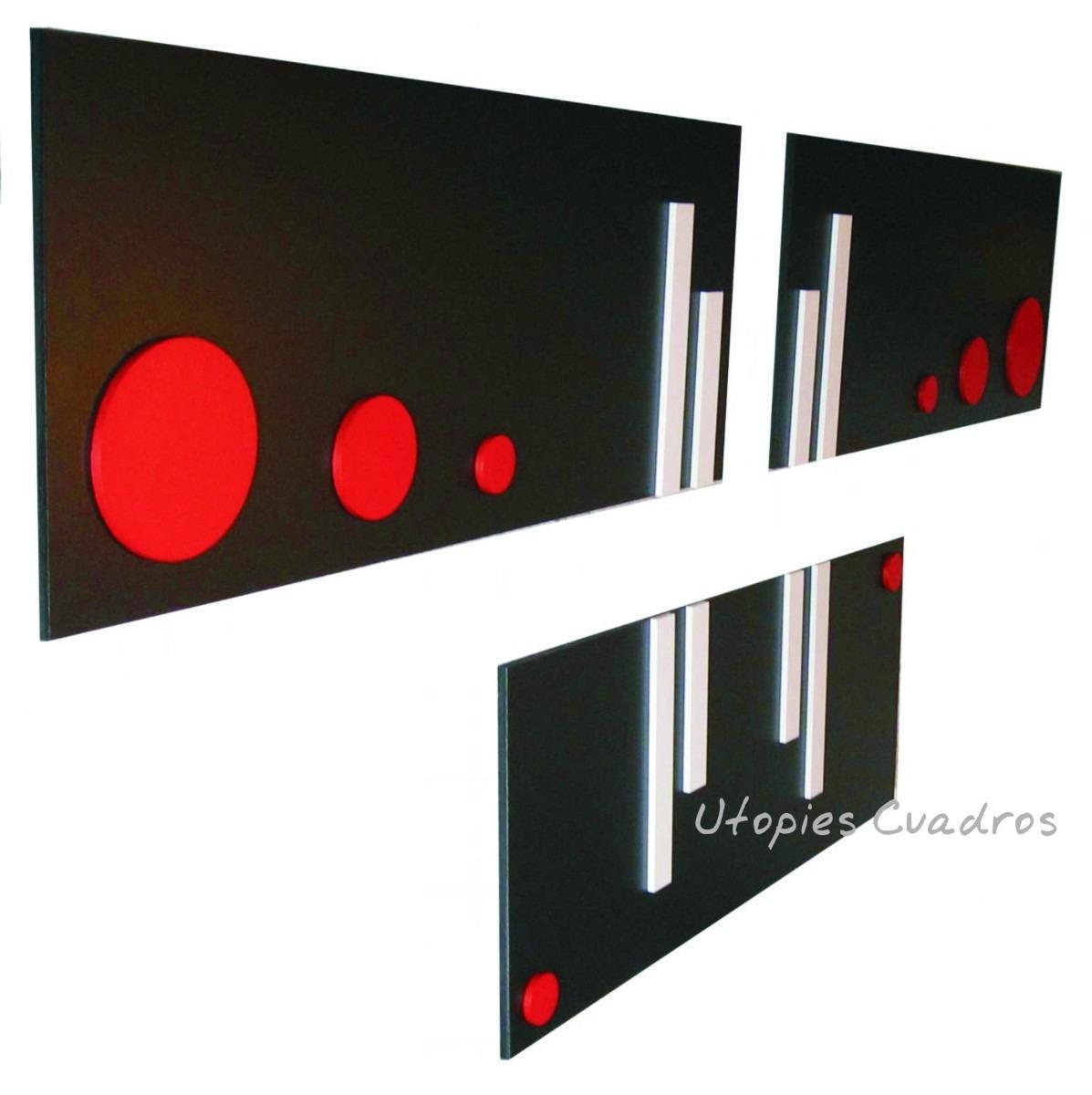 Cuadros dipticos tripticos gran variedad modernos car - Cuadro decorativos modernos ...