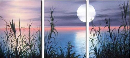 Cuadros tripticos de paisajes naturales imagui for Imagenes cuadros modernos
