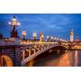 Cuadro De Torre Eiffel, Paris En Canvas Con Bastidor 95x61