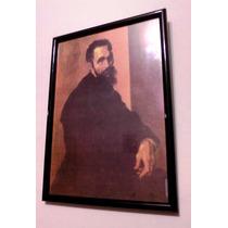 Miguel Ángel Buonarroti - Autorretrato ( Enmarcado )
