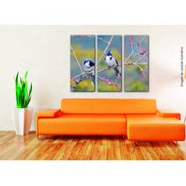 Cuadros Impresos Tripticos, Tela Canvas 60x50cm Paisajes!