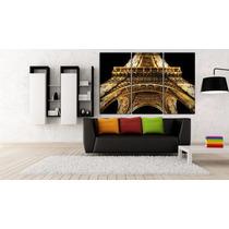Torre Eiffel Bastidor En Canvas De 120x80 Cm Exelente