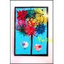 Cuadros Modernos Coloridos Arbol De La Vida Pintados A Mano