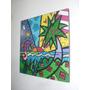 Cuadros Romero Britto - Arte Pop - 20x20 (varias Opciones)
