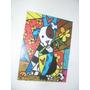 Cuadros El Perro Romero Britto - Arte Pop - 19x25