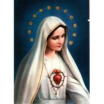 Corazon De Maria - Laminas En Bastidor, Imágenes Religiosas
