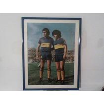 Cuadro Maradona Brindisi Con Marco Mercado Pago