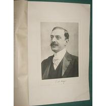 Luis Maria Drago Grabado Historia Argentina Libro Antiguo