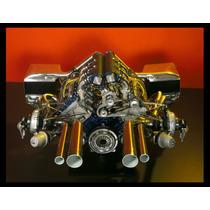 Renault Motor 1977 F1 Cuadro Enmarcado 45 X 30cm
