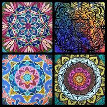 Cuadros De Mandalas Artesanales Pintados A Mano, Unicos
