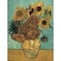 Laminas 40 X 50 De Van Gogh Girasoles, Leer
