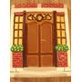 Cuadros En Relieve De Yeso - Pintados A Mano - Motivos Casas