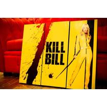 Cuadros Modernos Kill Bill. Tríptico. Cine Películas