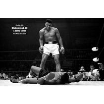 Muhammad Ali En Tela Canvas 100 X 65 Cm