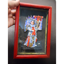 Cuadro Chino Rojo Y Negro Tipo Caja -med 14,5 X 21,5 X 3,5 -
