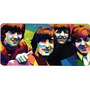 Beatles Cuadro Impreso En Madera
