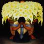 Cuadro De Pintura D. Rivera En Tela Canvas/bastidor 95x95
