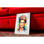 Cuadro Artesanal Frida Kalho. Regalos Arte Y Decoración