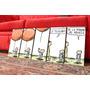 Set De Cuadros Artesanales Liniers. Historietas. Comics