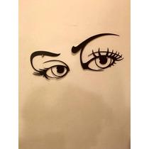 Ojos Mujer - Imágenes Metálicas Para Decoración Interior