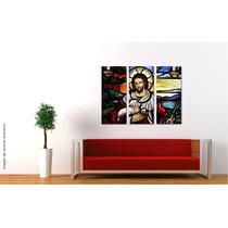 Cuadros Impresos Tripticos, Tela Canvas 30x35cm Religiosos!