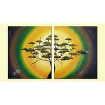 Cuadro Moderno - Pintado A Mano - Diseño Original 100x60