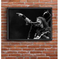 Cuadro Decorativo Foo Fighters 30x42cm Lamina Poster