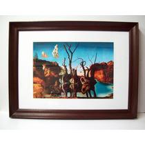 Salvador Dalí - Cisnes Que Se Reflejan Como Elefantes -
