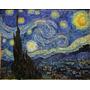 Cuadro Noche Estrellada De Van Gogh En Lienzo De Algodón