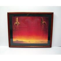 Salvador Dalí - Los Elefantes - Cuadro, Lamina