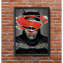 Cuadro Decorativo Batman Vs Superman 30x42cm Lamina Póster