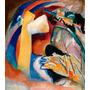 Cuadro De Kandinsk Impreso En Canvas Con Bastidor 83x95
